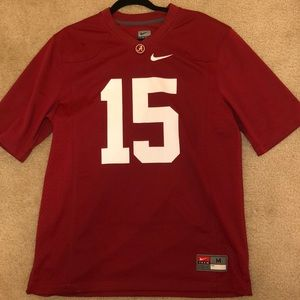 Nike Alabama Crimson Tide Football Jersey #15